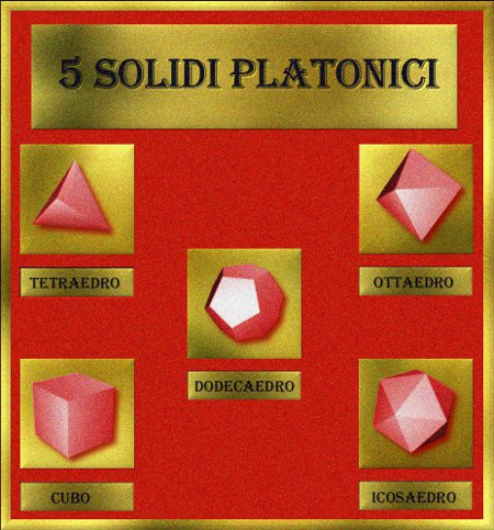 5 Solidi Platonici ESCAPE='HTML'