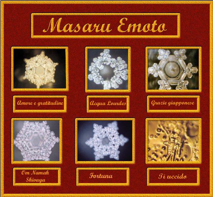I cristalli d'acqua di Masaru Amoto ESCAPE='HTML'