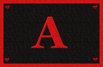Lettera A  & Aleph ESCAPE='HTML'