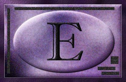 Lettera E ESCAPE='HTML'