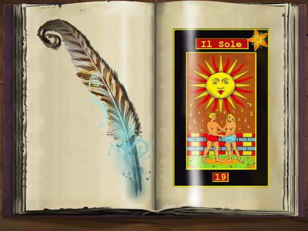 Tarocchi Il Sole ESCAPE='HTML'