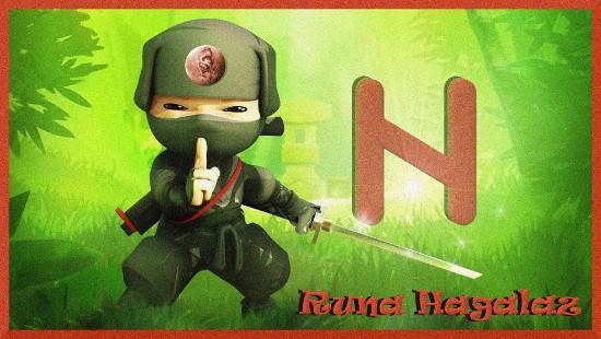 Runa Hagalaz ESCAPE='HTML'