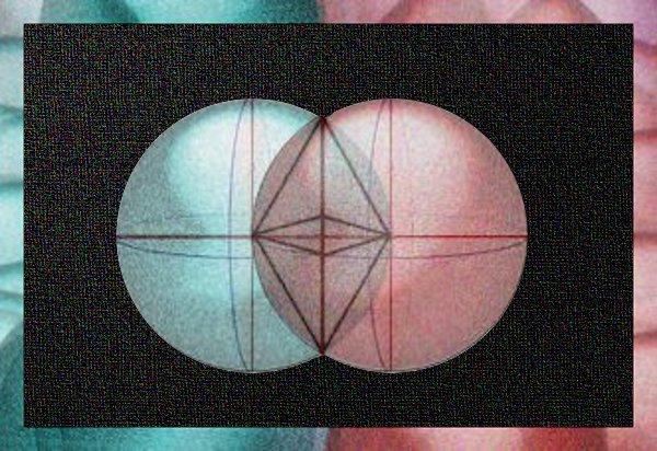Vescica piscis tridimensionale e tetraedri ESCAPE='HTML'