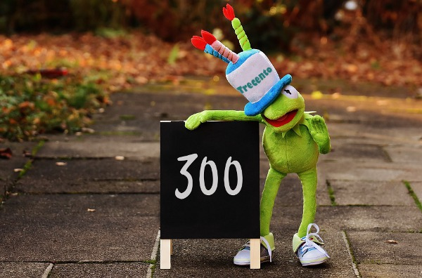 Numero 300 e Shin ESCAPE='HTML'