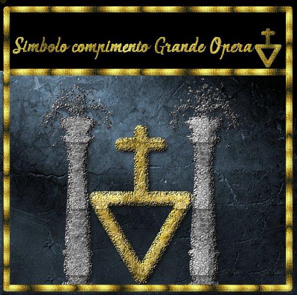 Simbolo compimento Grande Opera ESCAPE='HTML'