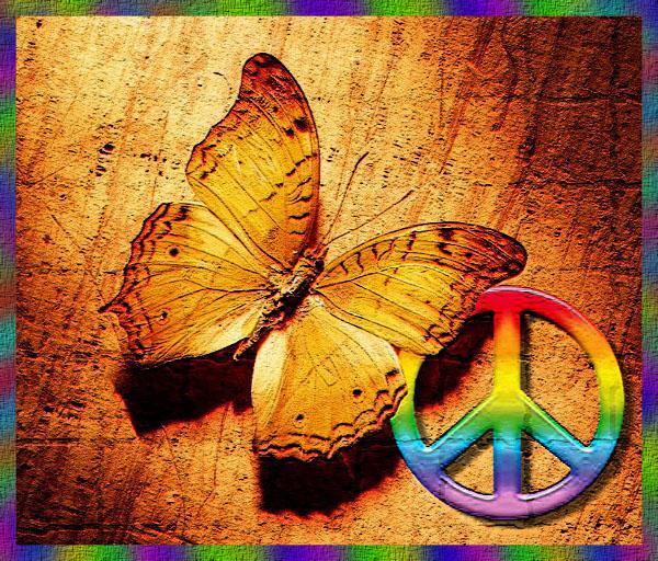 Simbolo della pace e del disarmo nucleare ESCAPE='HTML'