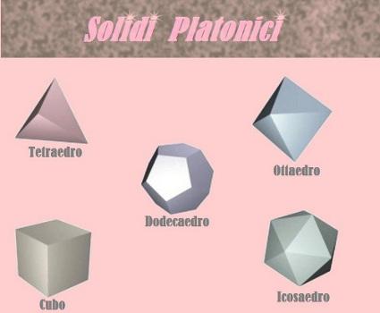 Solidi platonici ESCAPE='HTML'